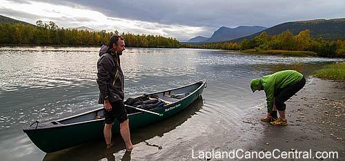 Paddle_route_jokkmokk_kvikkjokk